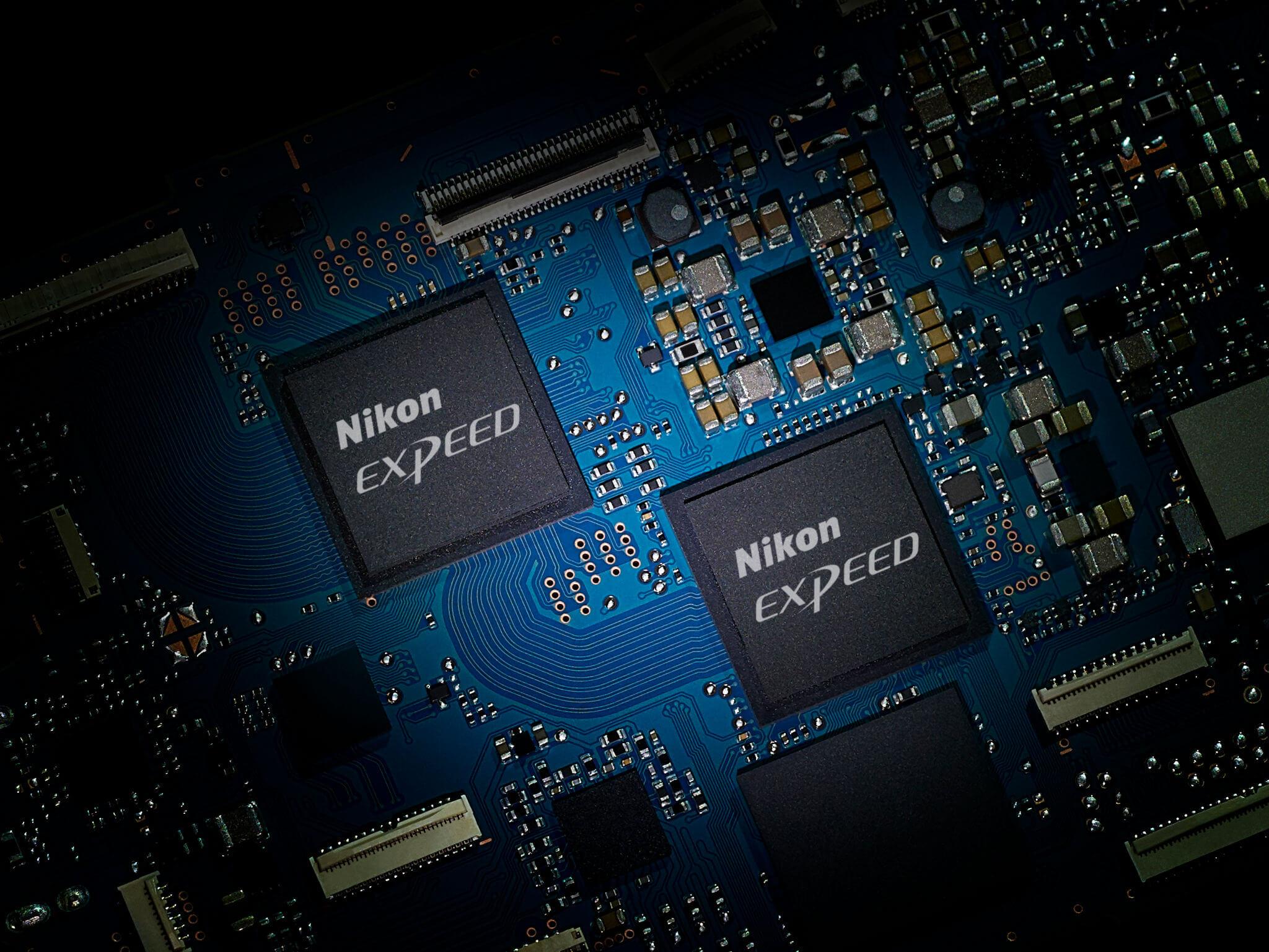 2× obrazový procesor EXPEED 6
