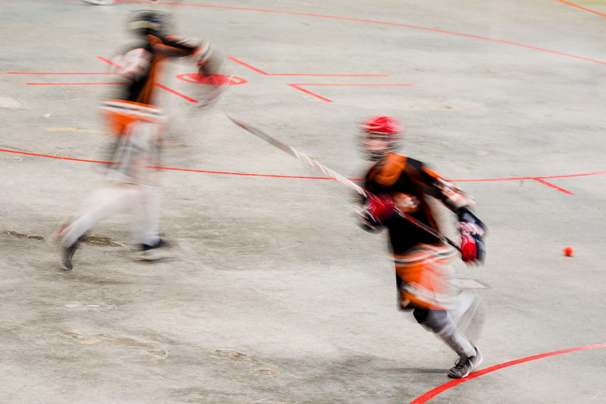 Hokejbal | Foto Barbora Blahová