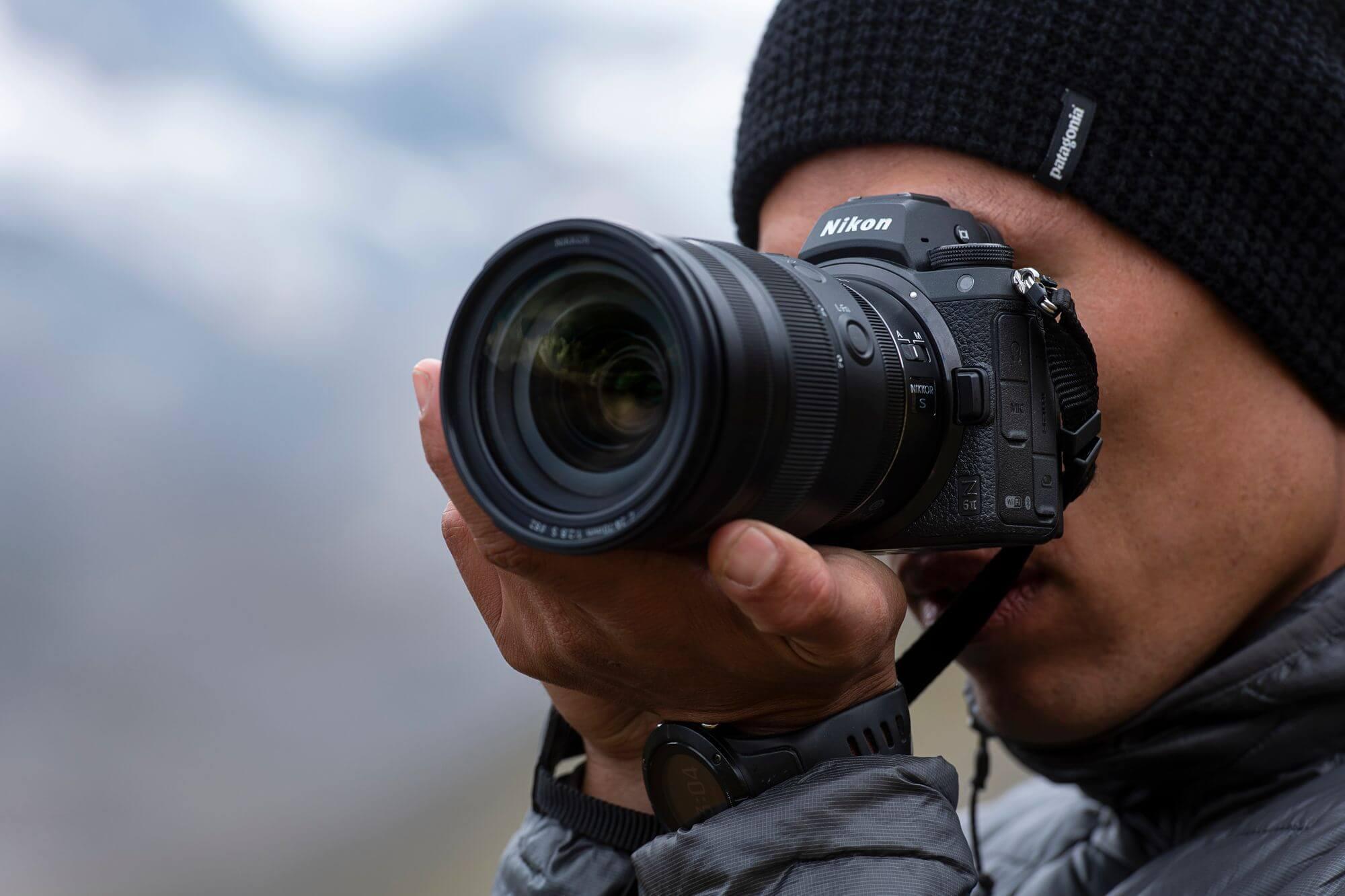 Ray Demski s Nikonem Z 6II a Nikkorem Z 24–70 mm f/2,8 S