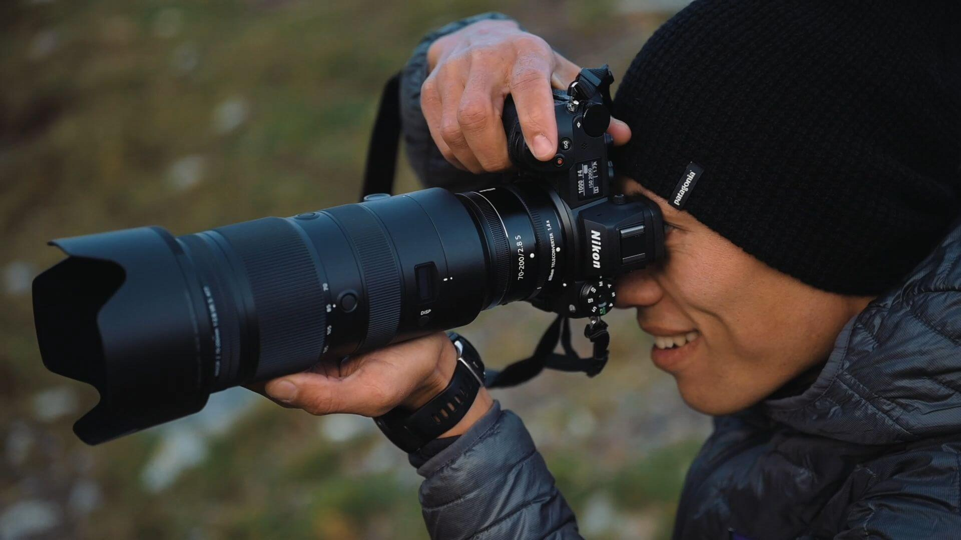 Ray Demski s Nikonem Z 6II a Nikkorem Z 70–200 mm f/2,8 S