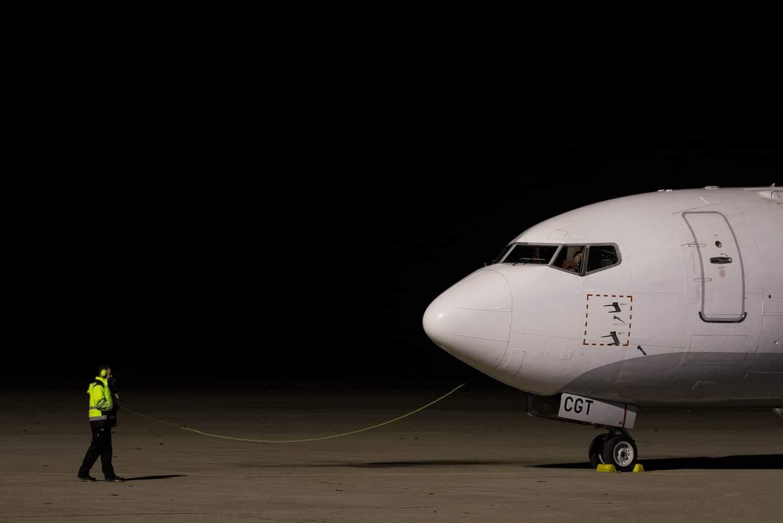 Někdo venčil psa, někdo letadlo | Foto Pavel Chorobík