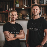 Peter Konopásek a Juraj Guráň –Mocup. space