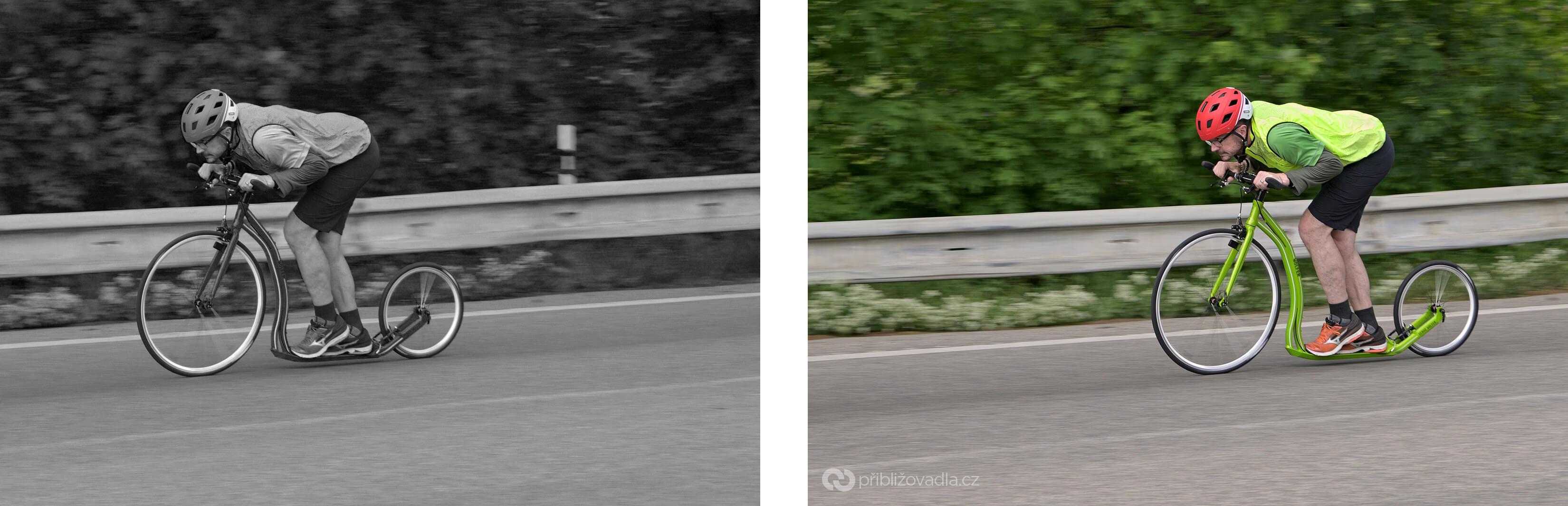 """Vlevo špatně, vpravo dobře. Pokud jste opravdoví fotografové, pak ten rozdíl """"cítíte v kostech"""""""