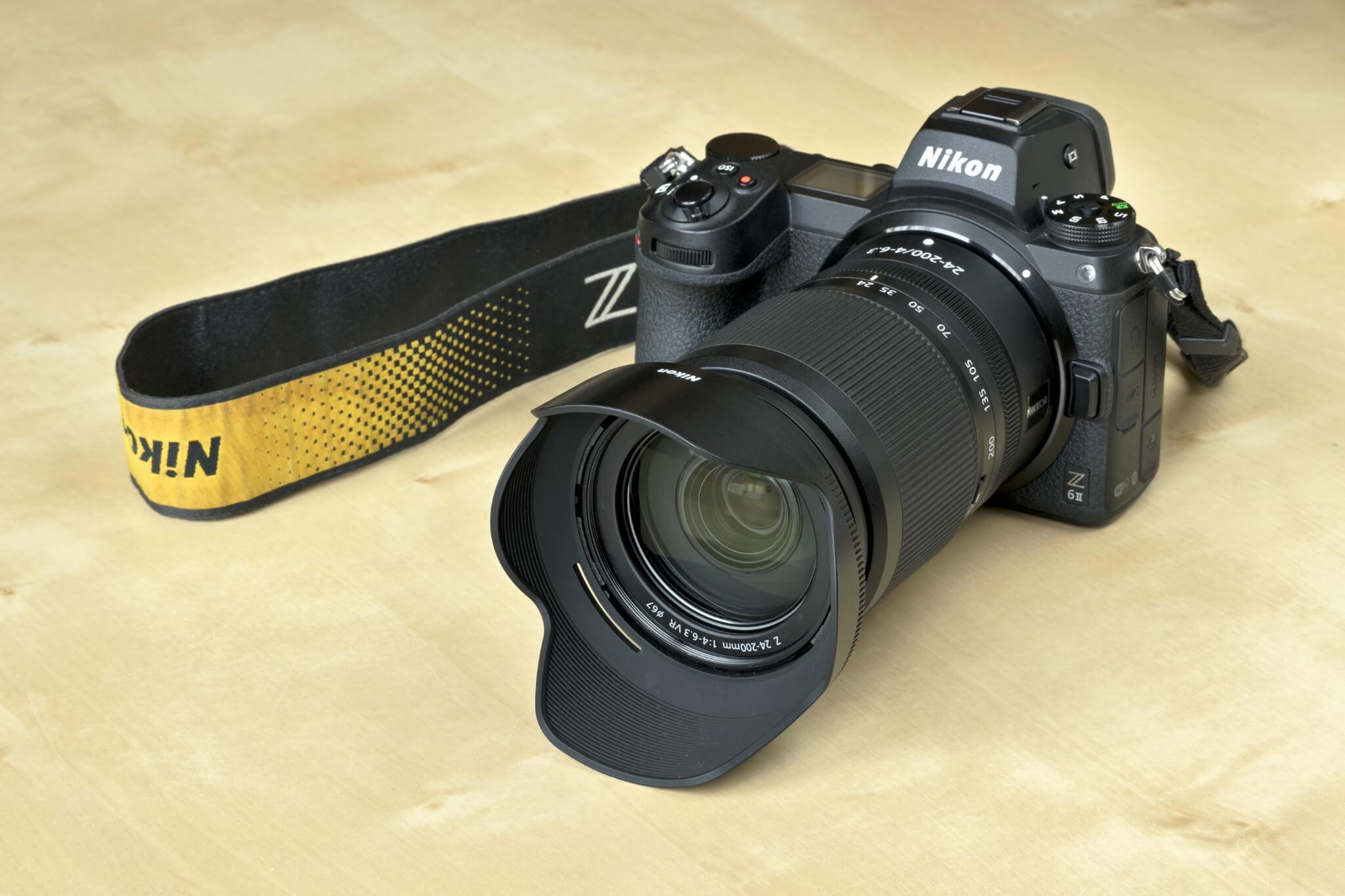 Nikkor 24–200 mm f/4–6,3 VR na Nikonu Z 6II
