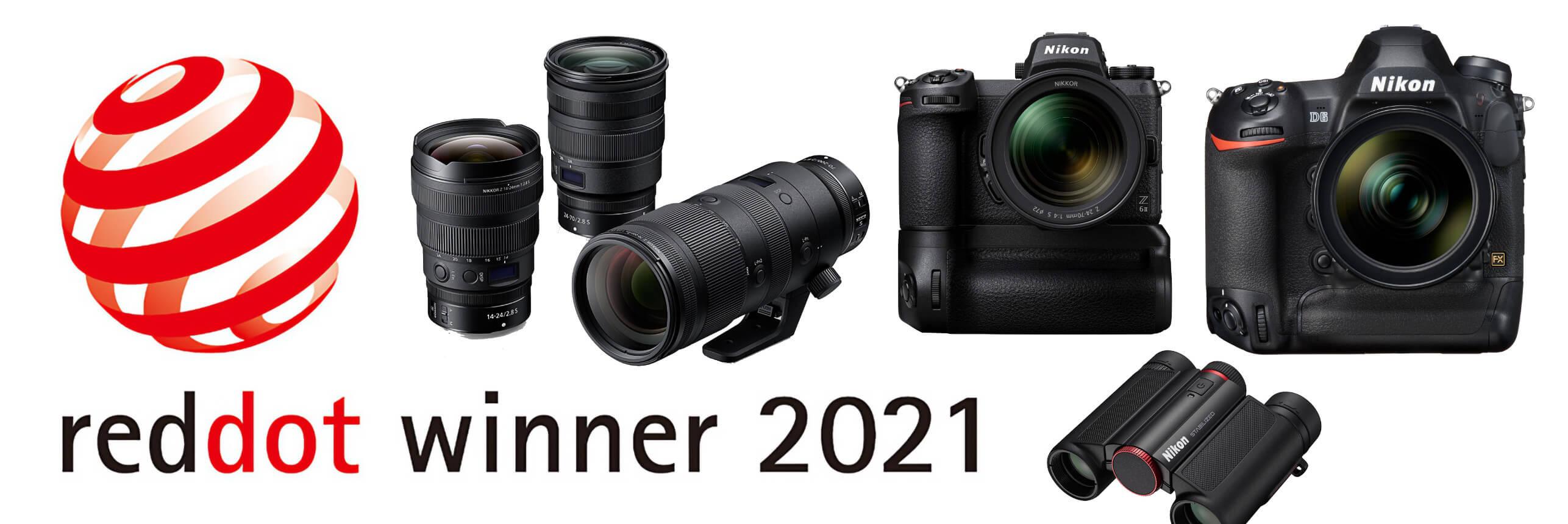 Ceny za design pro Nikon – Red Dot Award 2021 –jsou rozdány
