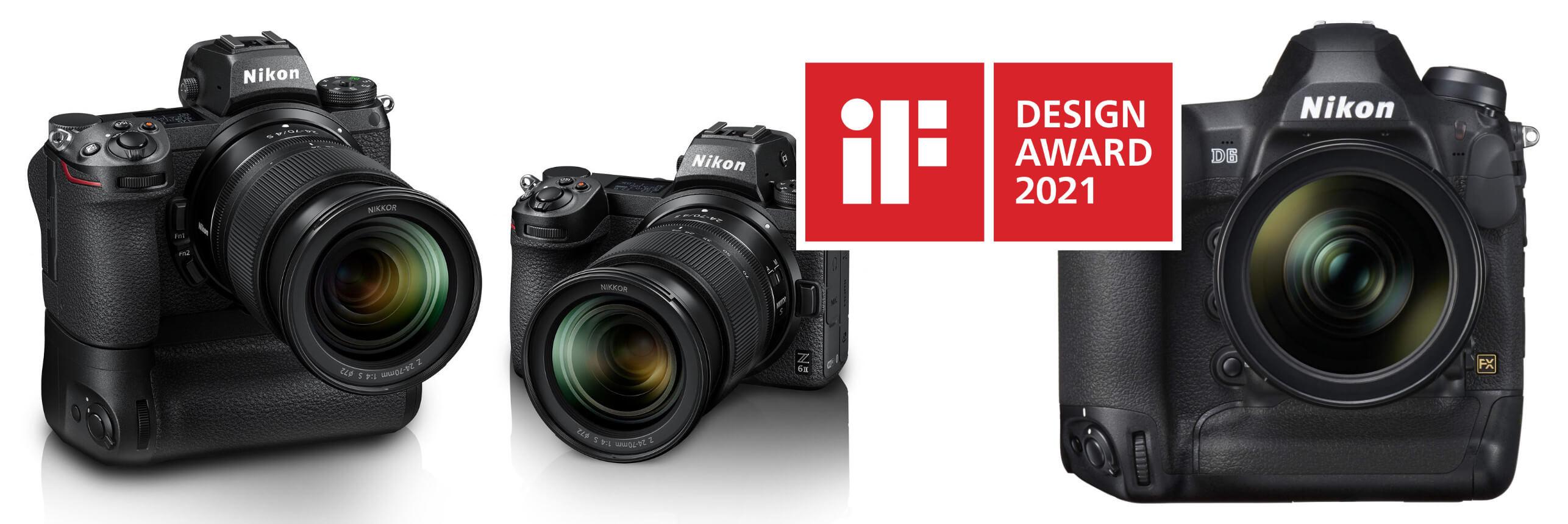 Kvalita potvrzena –iF Design Award 2021 pro Nikon