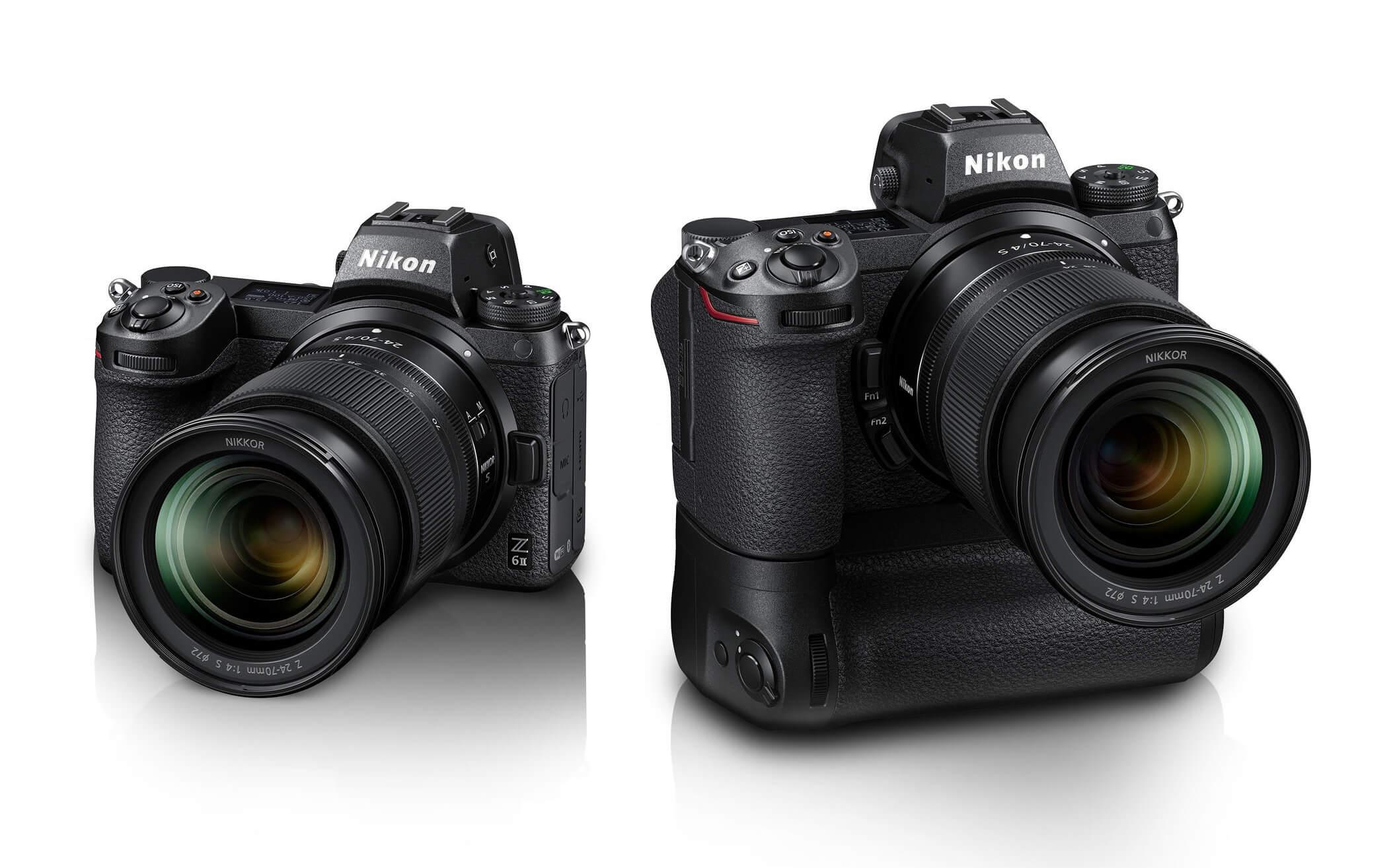 iF Design Award 2021 – Nikon Z 6II a Nikon Z ZII s vertikálním gripem MB-N11