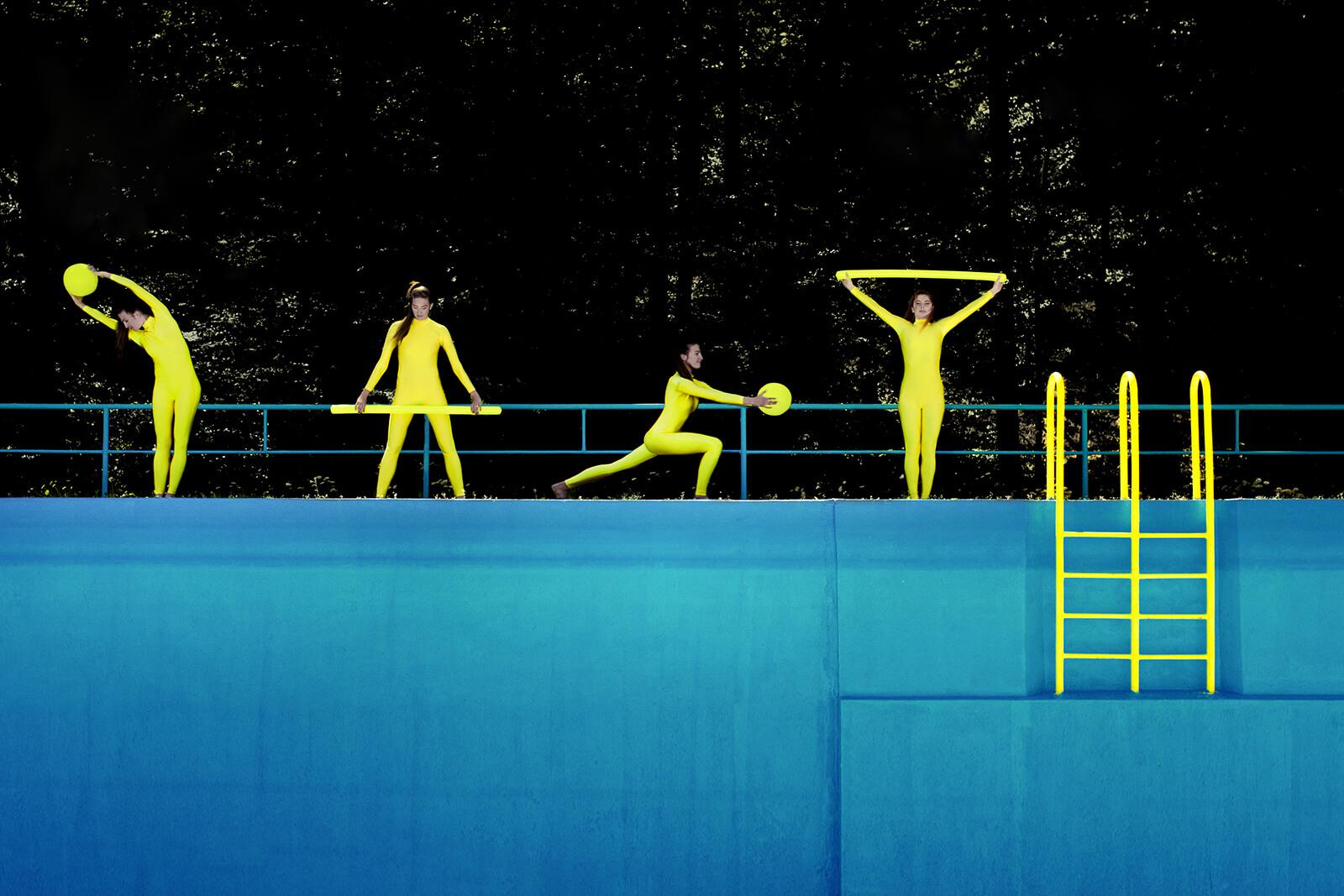 Foto ze série Warmup | Foto Miloš Nejezchleb