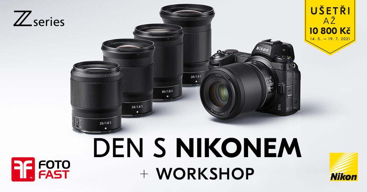 Předváděcí akce Nikonu obnoveny –začínáme v Jižní Čechách