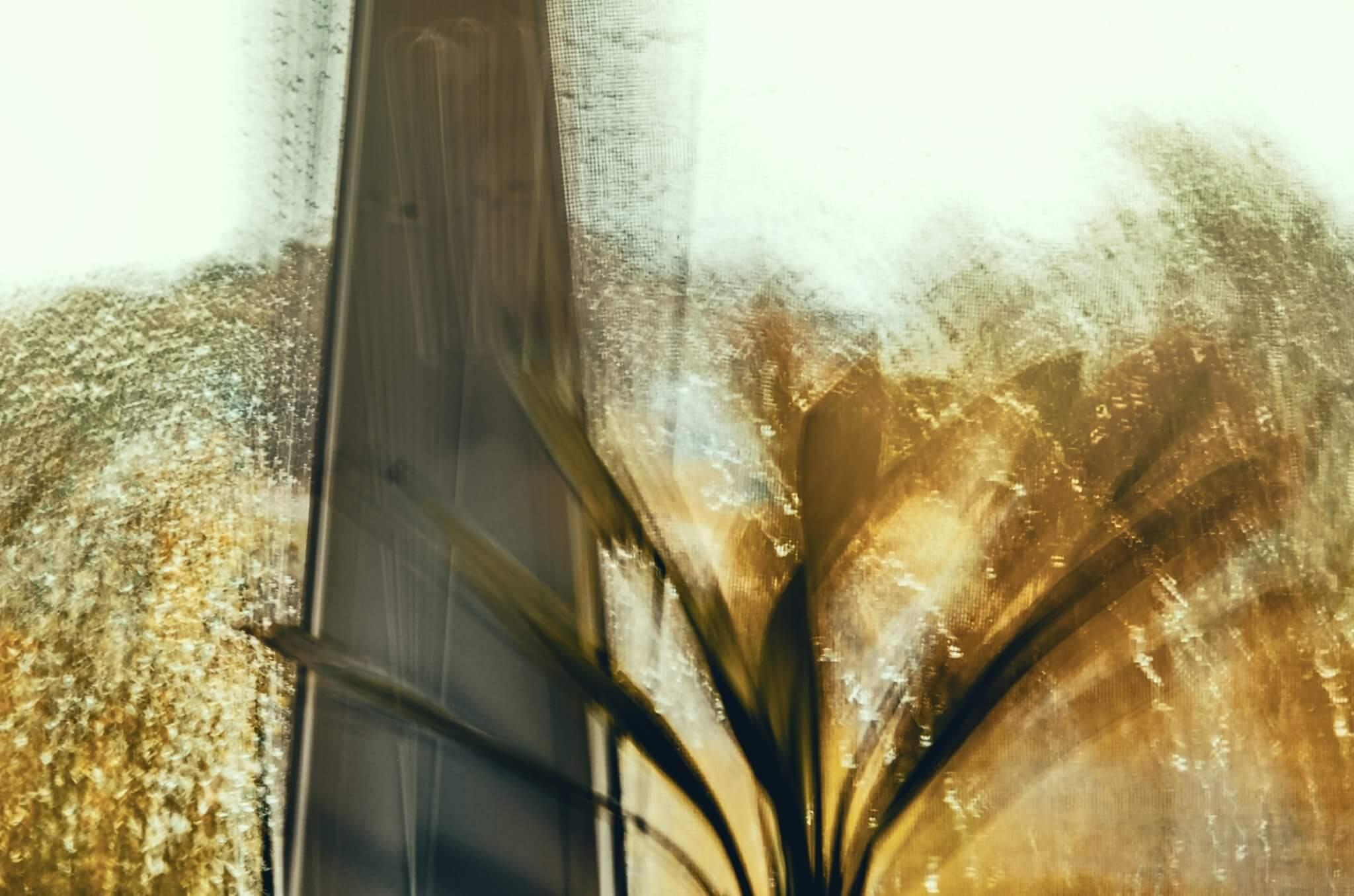 Vítězná fotografie 3. kola soutěže Fotka Nikonblogu 2021 na téma Pohyb ve fotografii | Občas zkouším díky dlouhému času vytvořit něco netradičního a dát například dynamiku pohybu i zdánlivě nepohyblivým a nebo tedy málo pohyblivým věcem jako je déšť za oknem | Foto Květačka Květa
