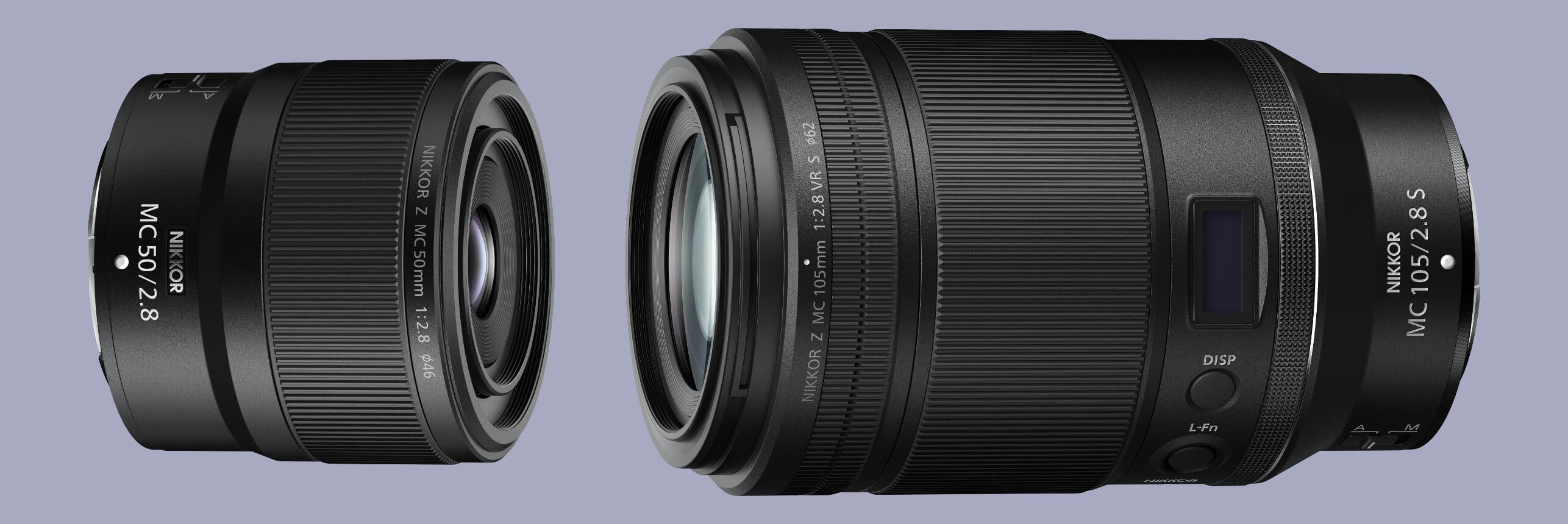 Nové makroobjektivy pro Nikony Z –právě teď!