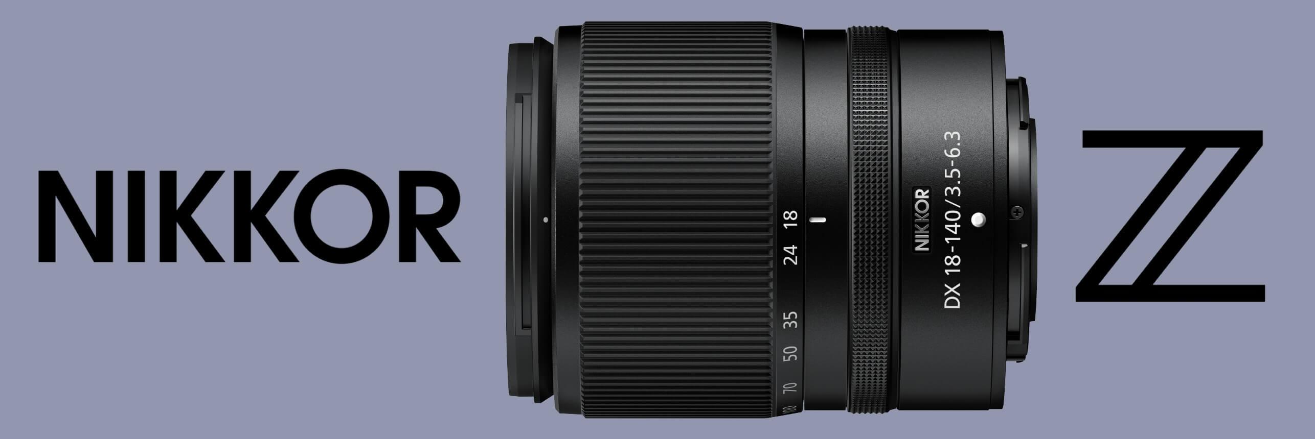 Chystá se: Středněrozsahový zoom pro DX Zetka – Nikkor Z DX 18–140 mm f/3,5–6,3 VR