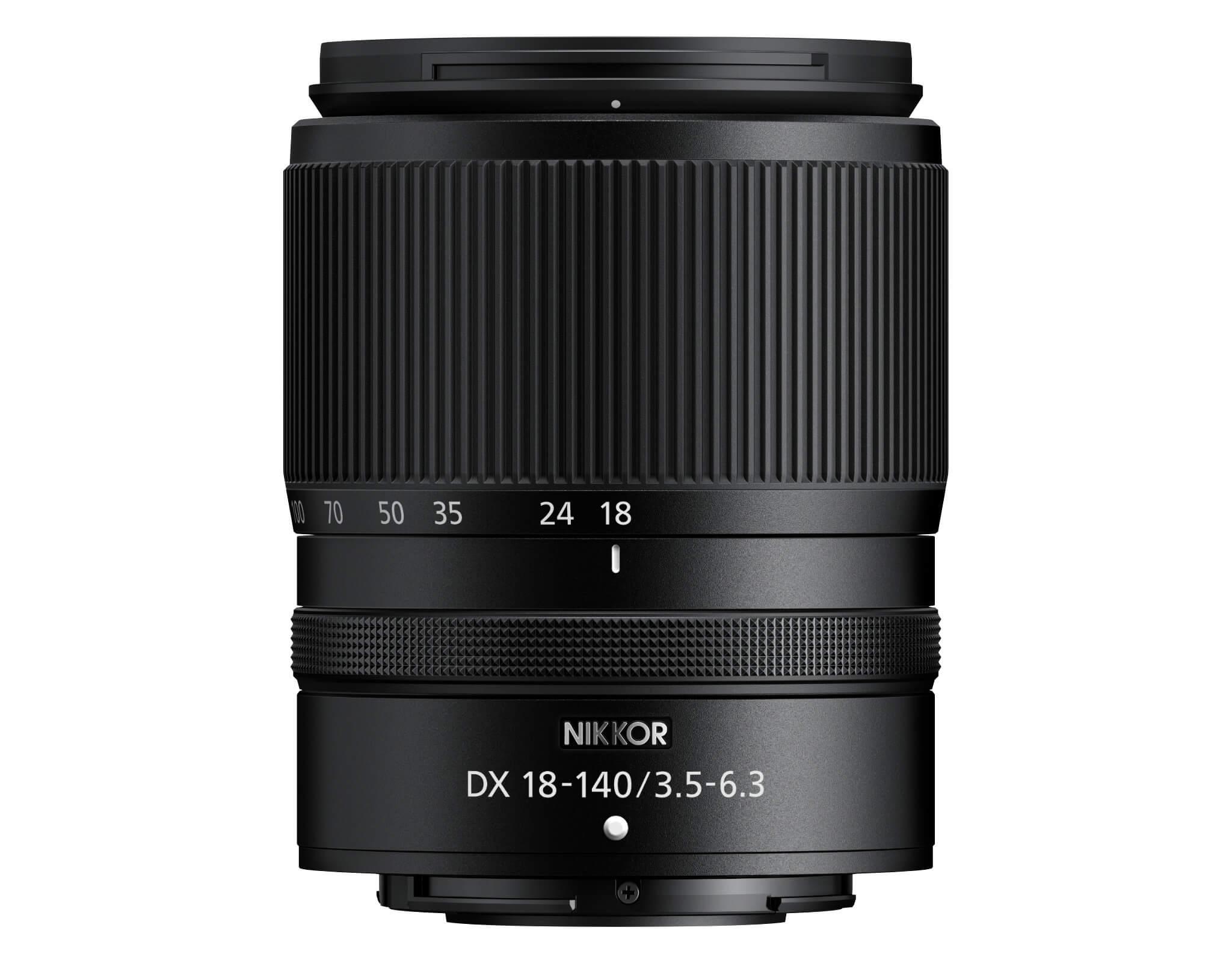 Nikkor Z DX 18–140 mm f/3,5–6,3 VR (Vzhled výrobku se může od výše uvedeného obrázku lišit)