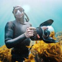 Můj učitel a průvodce podvodním vesmírem, George Karbus osobně | Nikon Z 7, Nikkor Z 20 mm f/1,8 S | Clona F3,5, čas 1/1 000 s, ISO 450