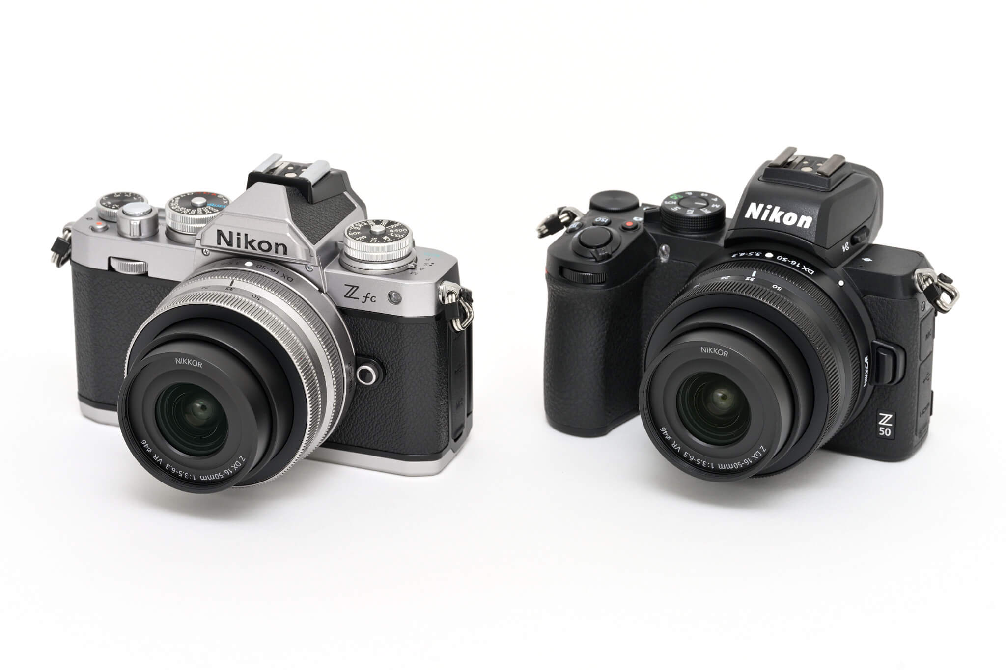 Nikon Z fc a Nikon Z 50 –časově stejná generace, designově dva různé světy…