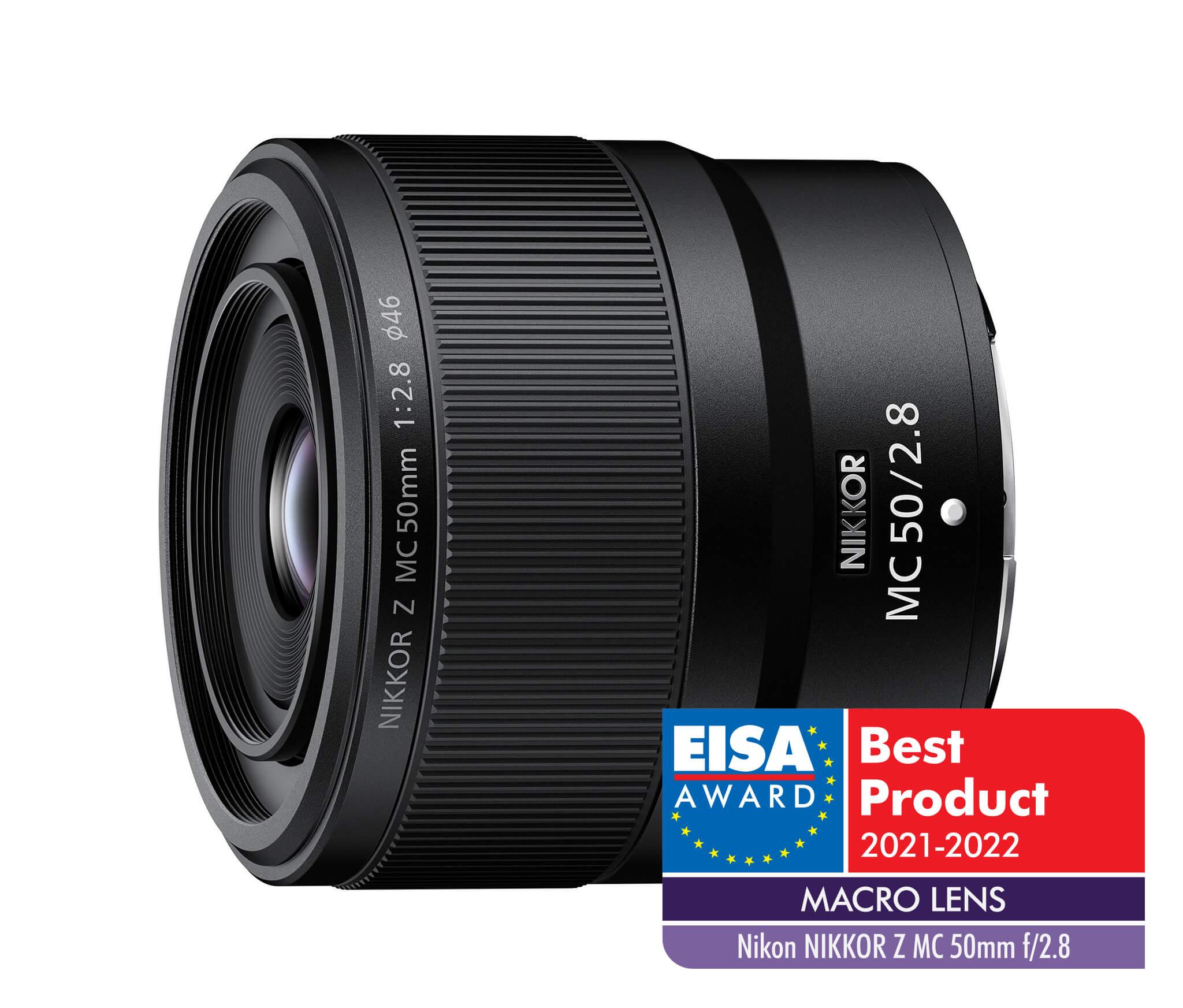 Nikkor Z MC 50 mm f/2,8   EISA 2021–2022 –Macro lens