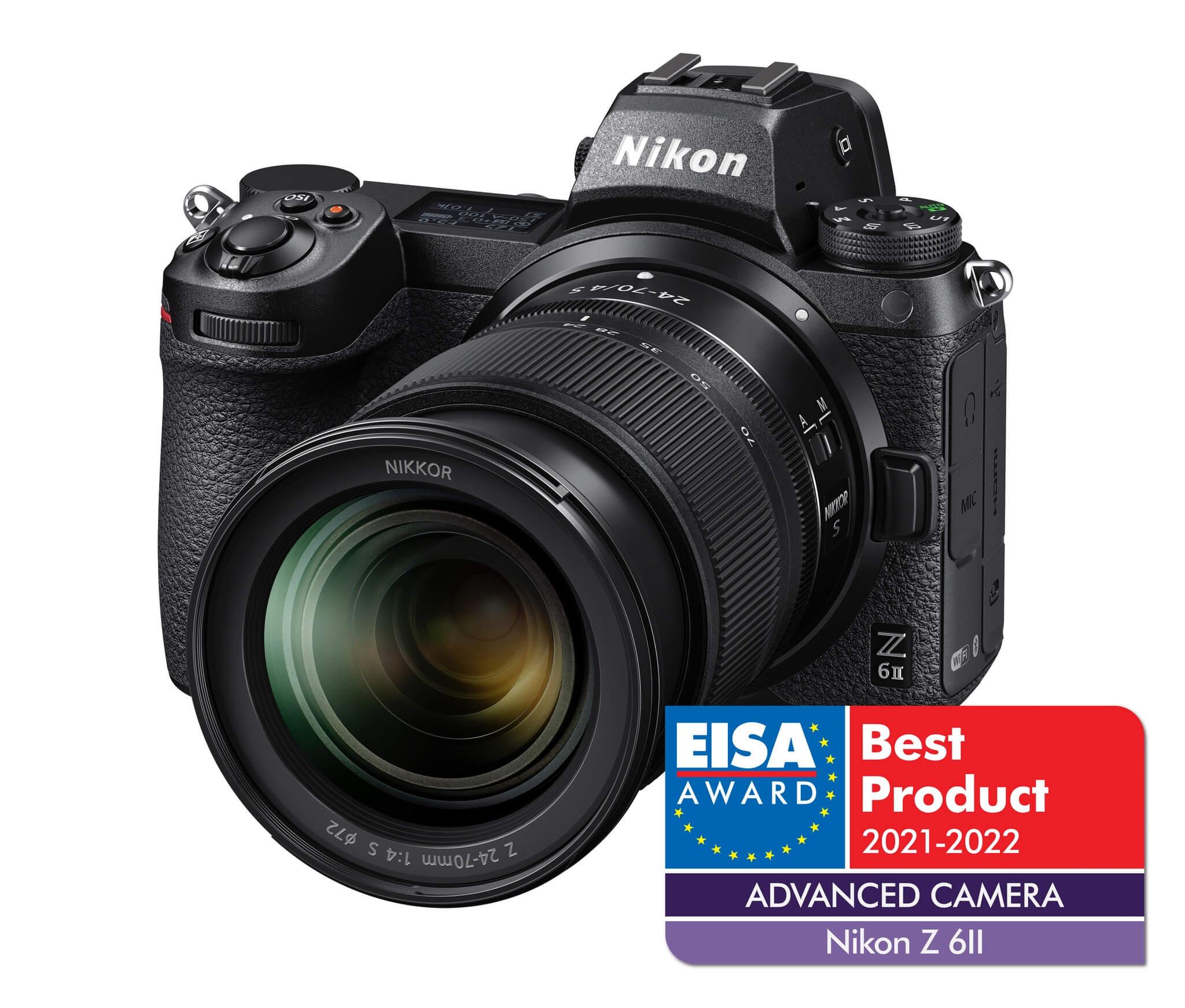 Nikon Z 6 II –EISA 2021-2022 –Advanced camera
