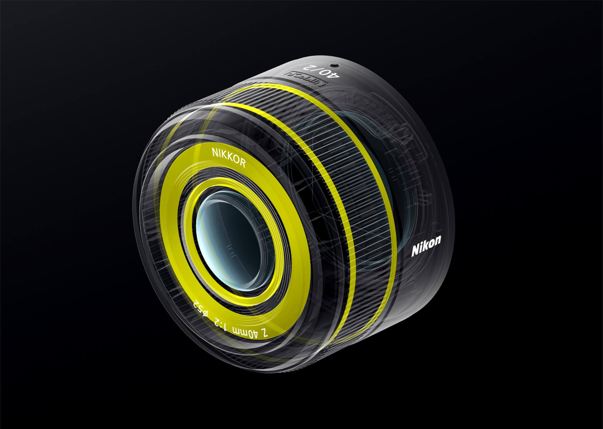 Nikkor Z 40 mm f/2 je utěsněný proti prachu a stékající vodě