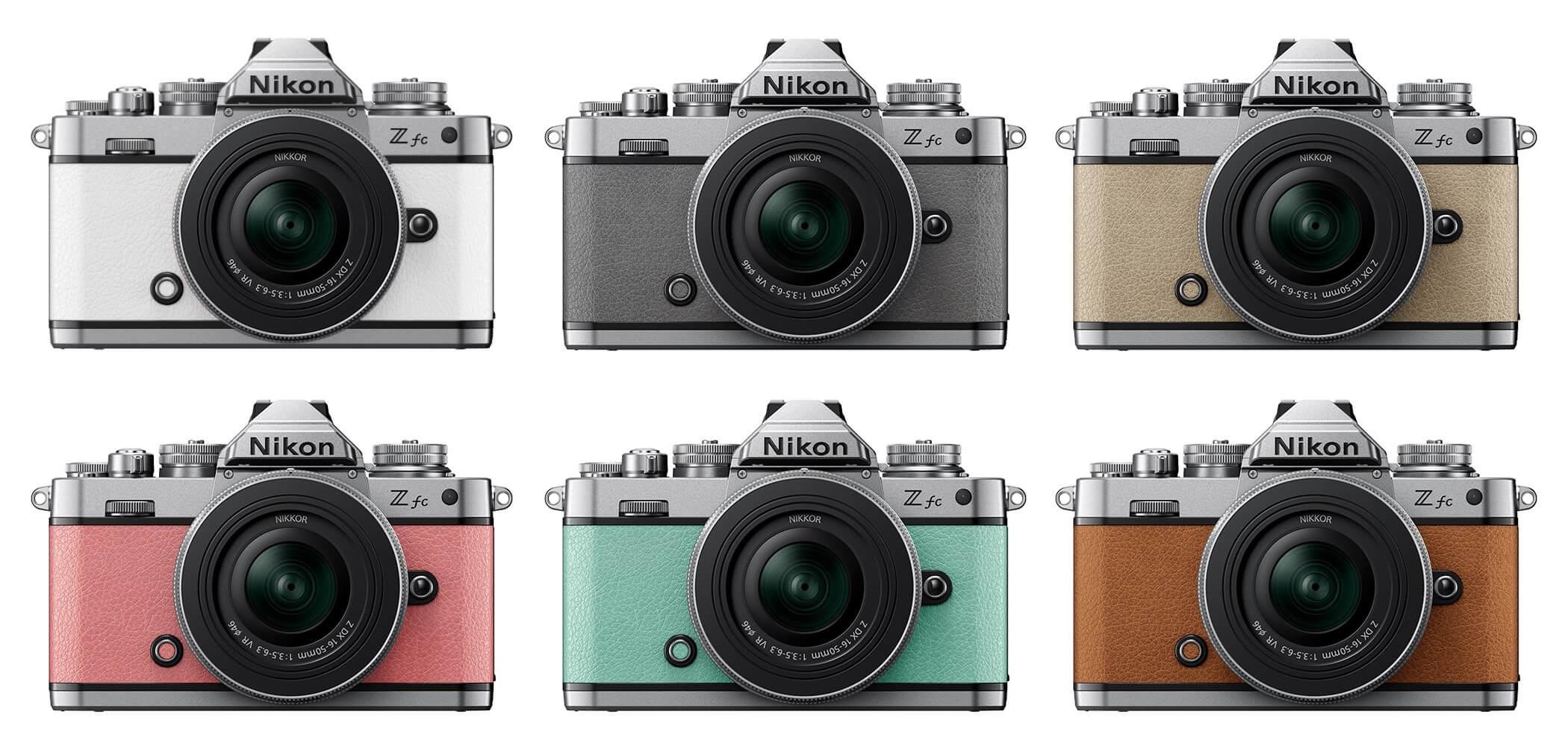Kromě stávajícího černo-stříbrného designu si budete moci Nikon Z fc pořídit také v provedení bílá, přírodně šedá, pískově béžová, korálově růžová, mátově zelená nebo jantarově hnědá. Která barva se vám líbí nejvíce?