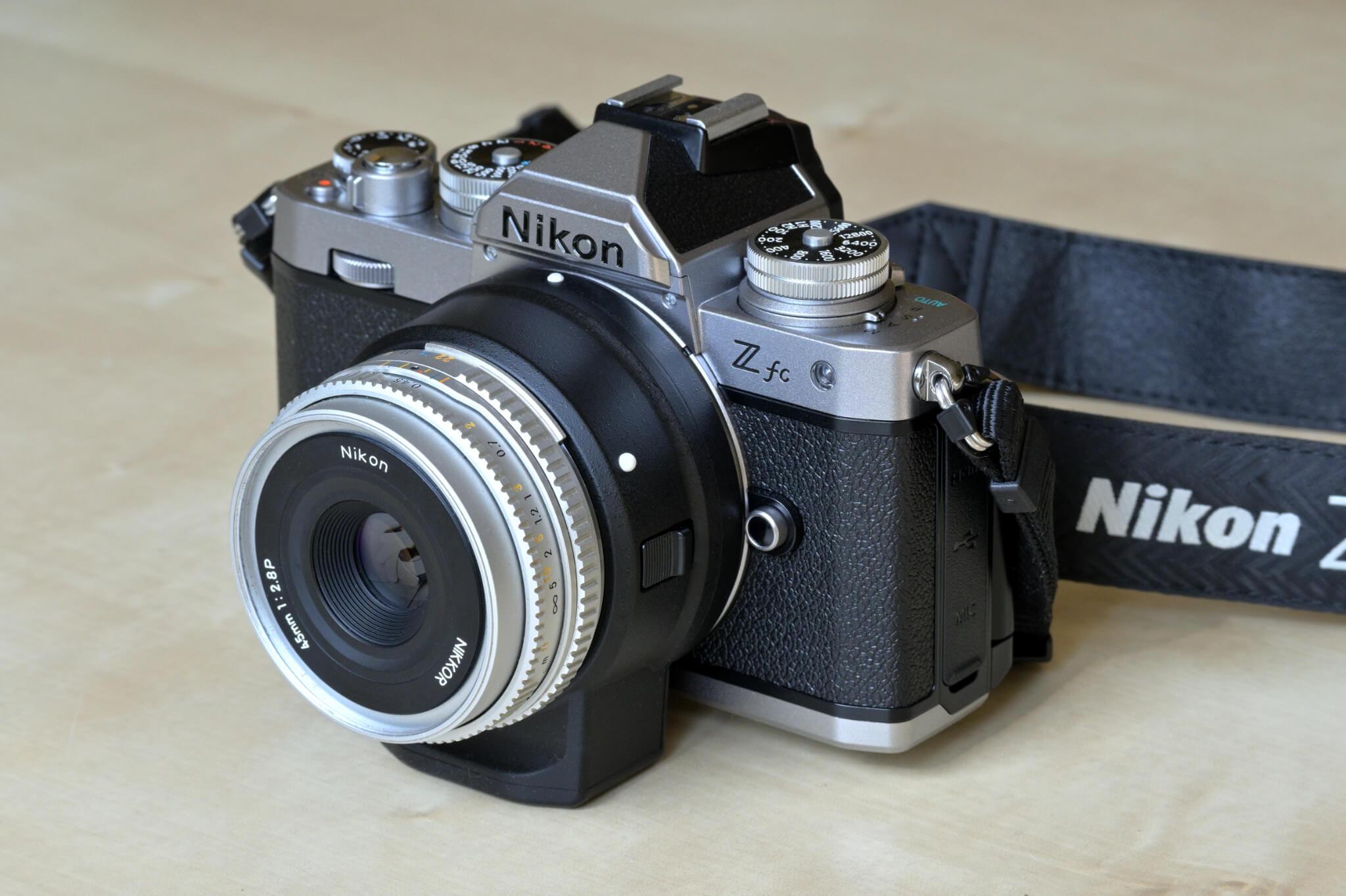 Adaptér FTZ popravdě Nikonu Z fc nesluší