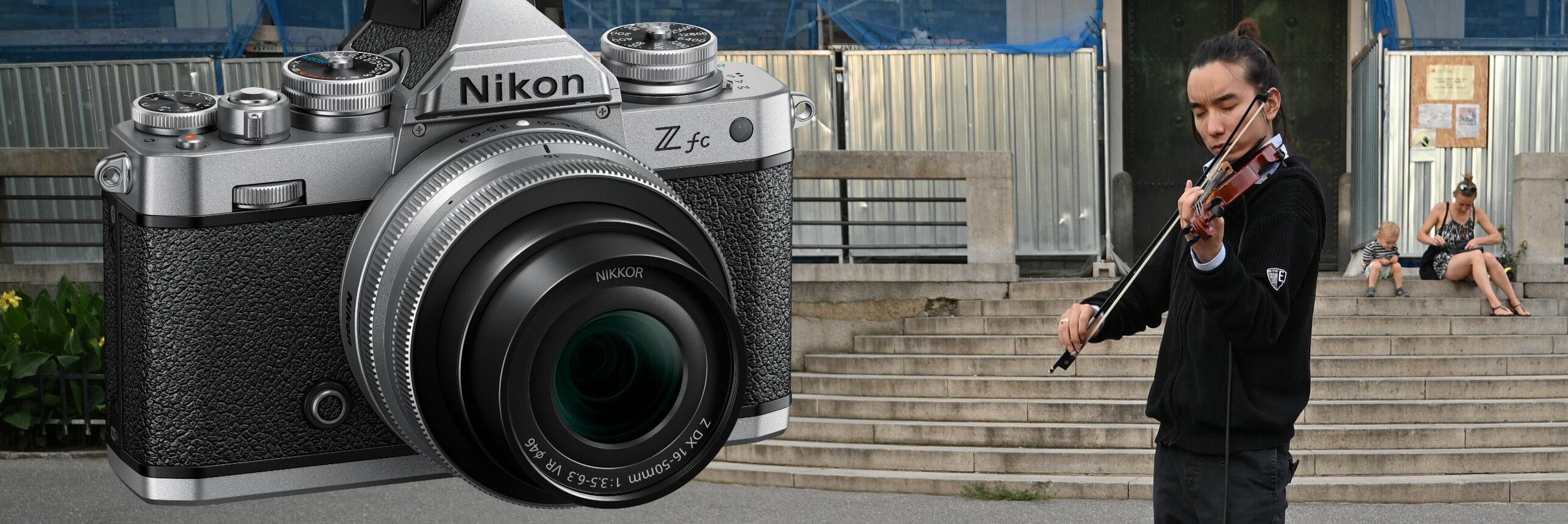 Nikon Z fc – v podrobné recenzi Nikonblogu