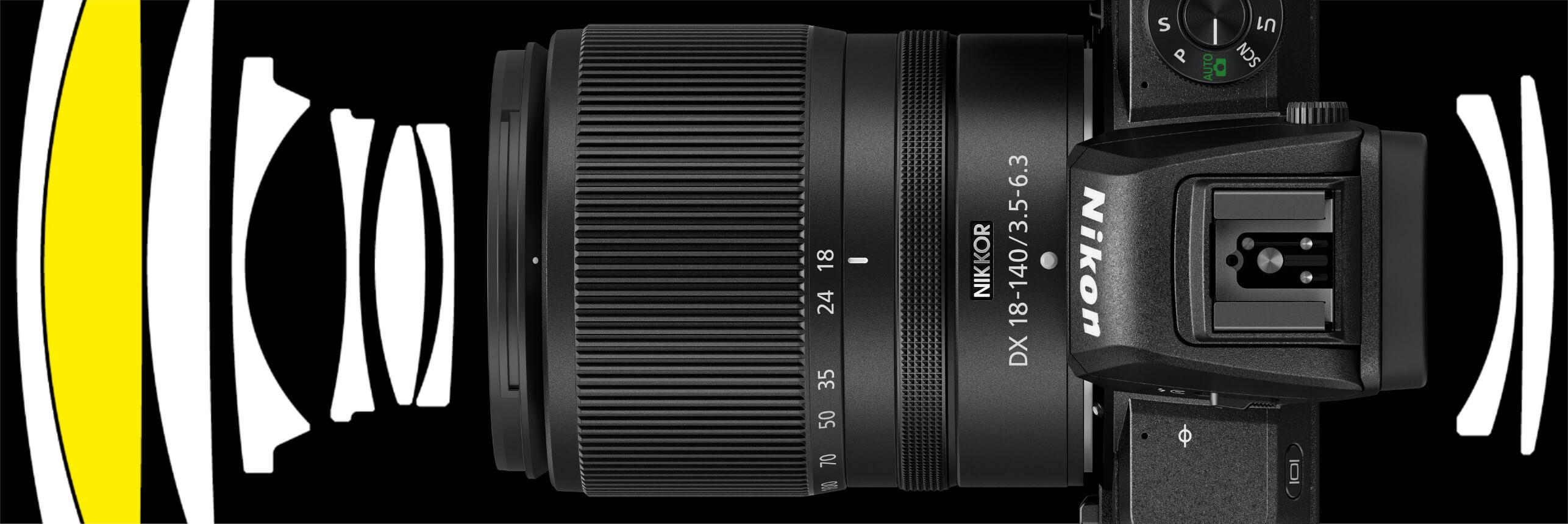 Už brzy u vašich prodejců… Nikkor Z DX 18–140 mm f/3,5–6,3 VR