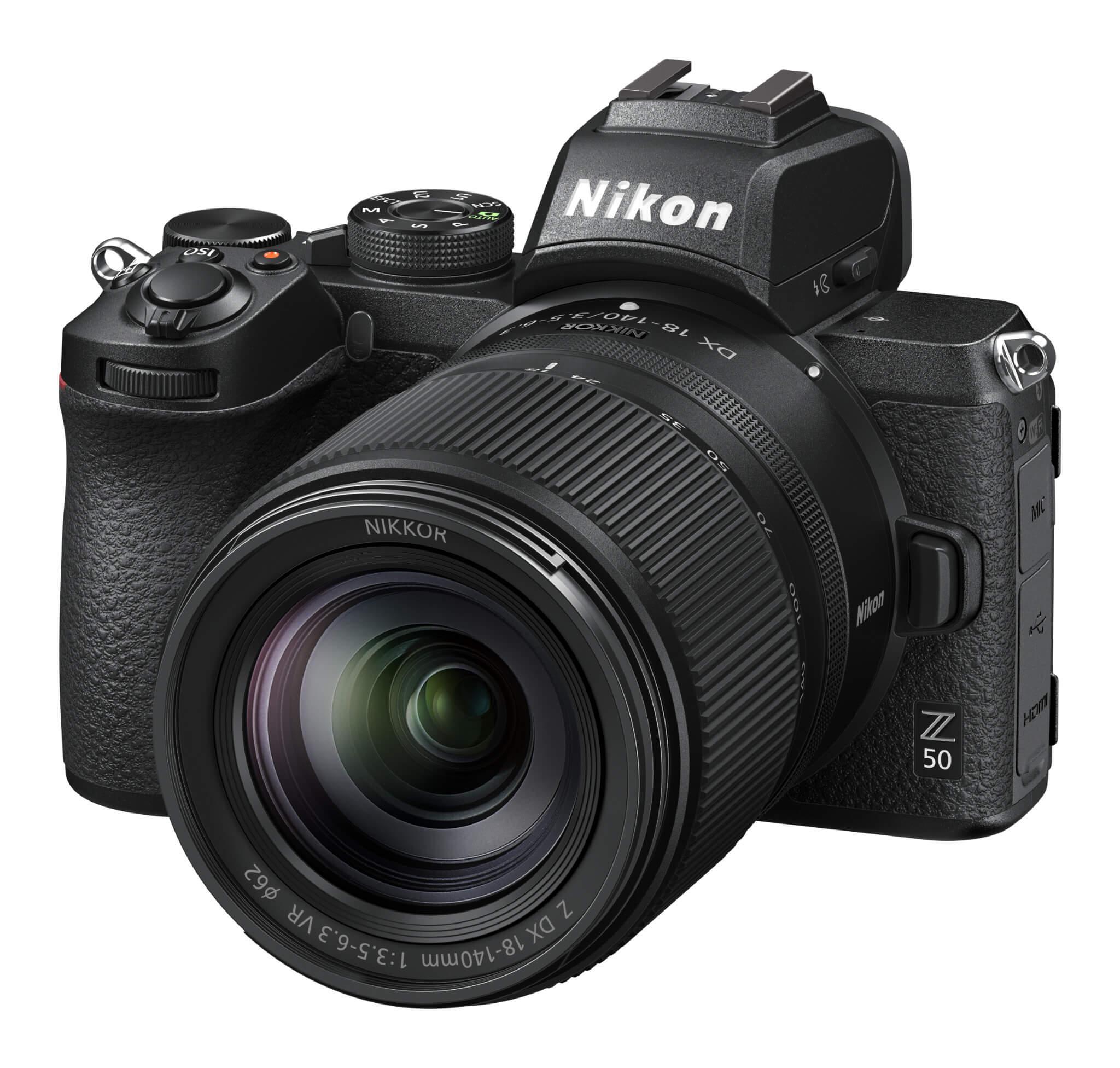 Objektiv Nikkor Z DX 18–140 mm f/3,5–6,3 VR na Nikonu Z 50
