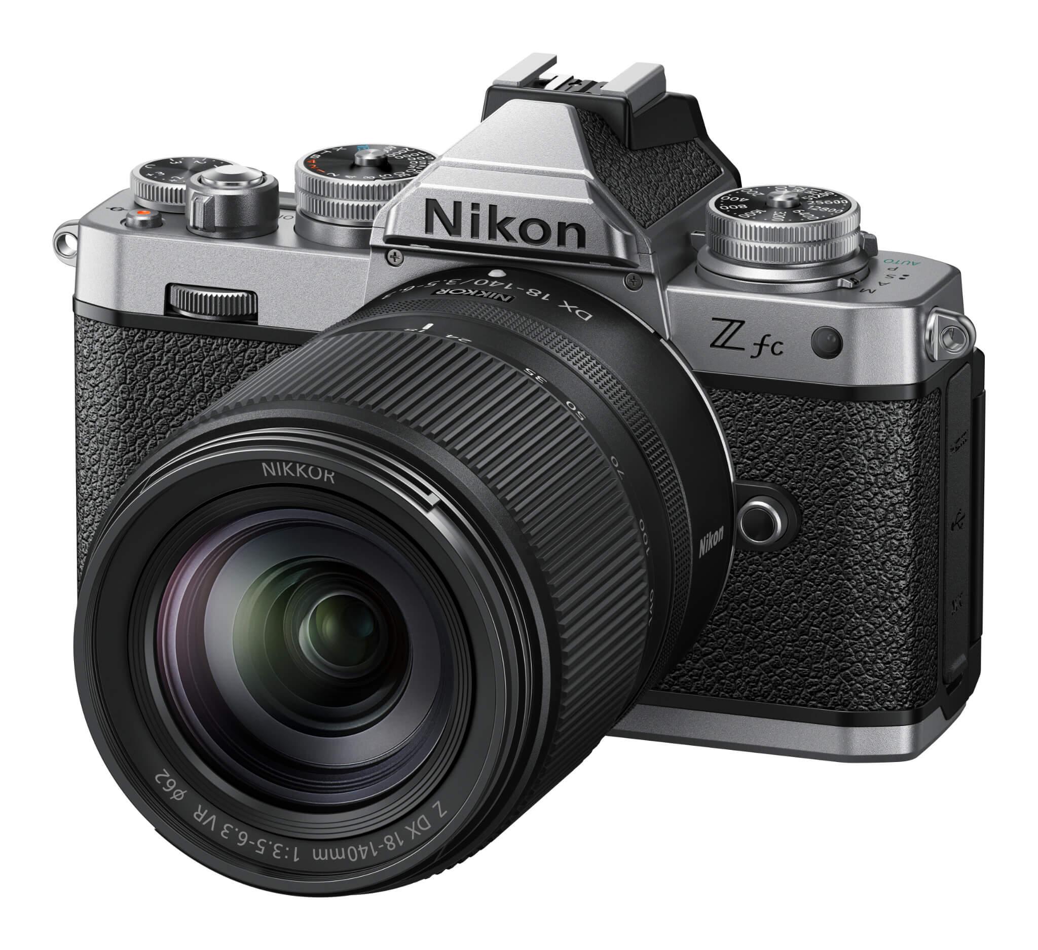 Objektiv Nikkor Z DX 18–140 mm f/3,5–6,3 VR na Nikonu Z fc