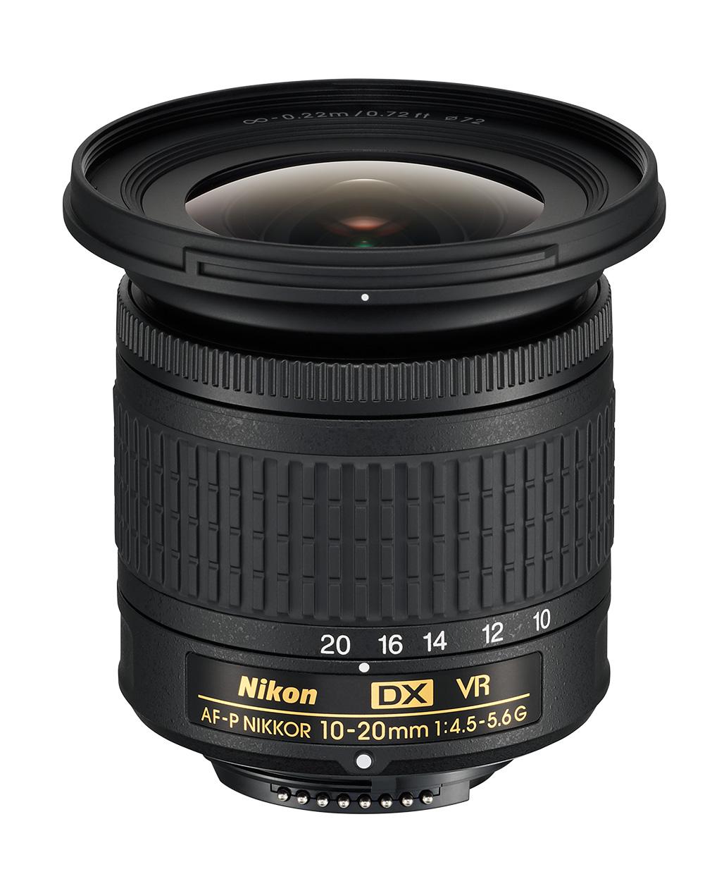 AF-P DX Nikkor 10–20 mm F4,5–5,6G VR