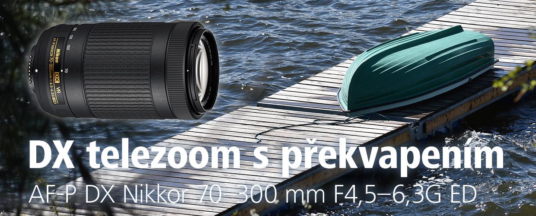 Telezoom s překvapením. AF-P DX Nikkor 70–300 mm F4,5–6,3G ED VR v testu Nikonblogu