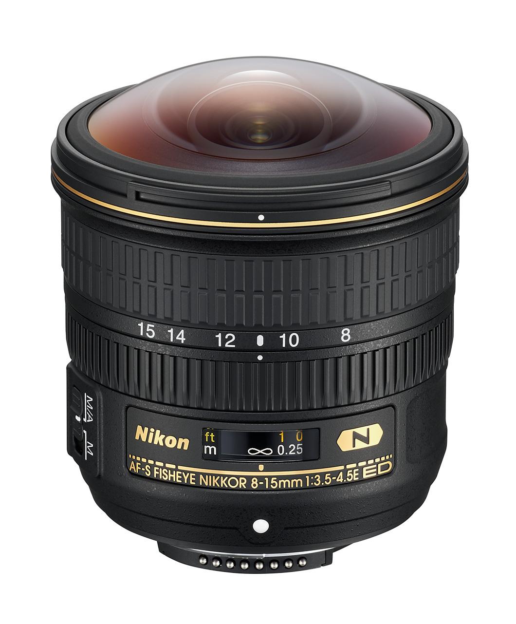 AF-S Fisheye Nikkor 8–15 mm f/3,5–4,5E ED