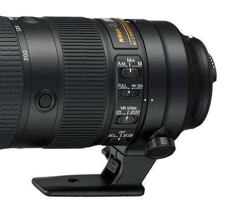 AF-S Nikkor 70–200 mm F2,8E FL ED VR