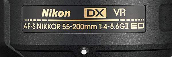 AF-S DX Nikkor 55–200 mm F4–5,6G ED VR II