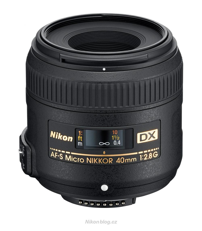 Makroobjektiv AF-S DX Micro Nikkor 40 mm F2,8G pro výherce soutěže JSEM | Nikon v přírodě