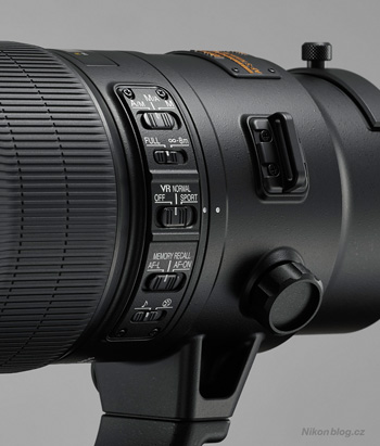 AF-S Nikkor 500 mm F4E FL ED VR a AF-S Nikkor 600 mm F4E FL ED VR