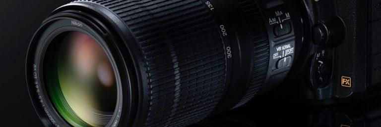 Krokový ostřicí motor pro FX formát. Nový objektiv AF-P Nikkor 70–300 mm F4,5–5,6E ED VR