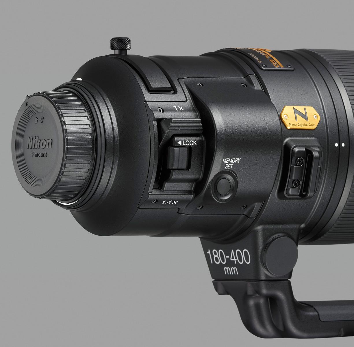 AF-S Nikkor 180–400 mm f/4E TC1.4 FL ED VR