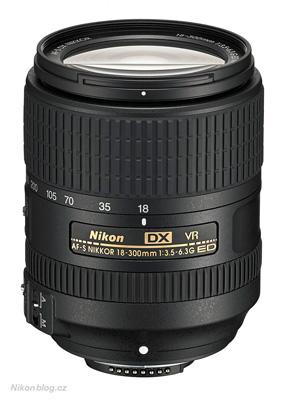 AF-S Nikkor DX 18–300 mm F3,5–6,3G ED VR