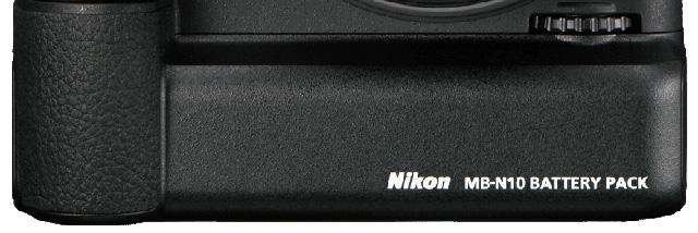 Elektrárna pro Nikony Z 6 a Z 7 –bateriový grip MB-N10