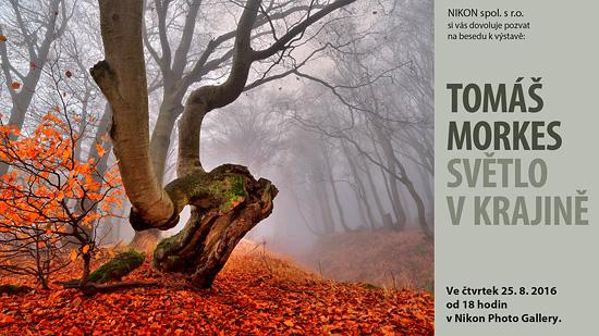 Beseda s Tomášem Morkesem v Nikon Photo Gallery