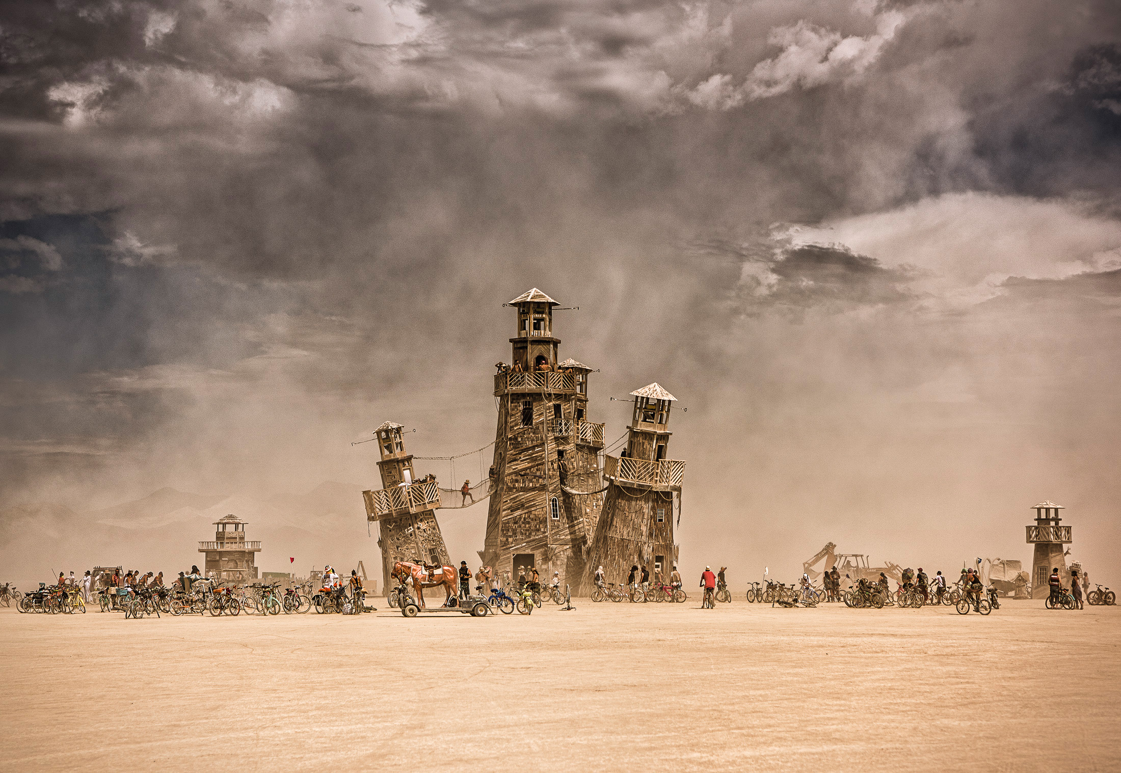 Burning man | Foto Marek Musil