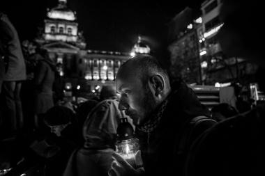 MILAN JAROŠ, Respekt: Rozloučení sVáclavem Havlem, prosinec 2011