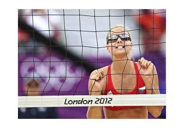 PETR JOSEK, AP: Plážový volejbal, Olympijské hry, Londýn, srpen 2012 (série)