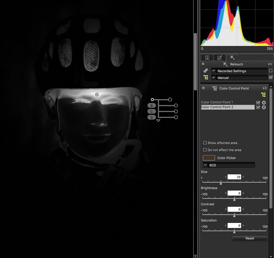 Capture NX-D –přehlednější práce s kontrolními body