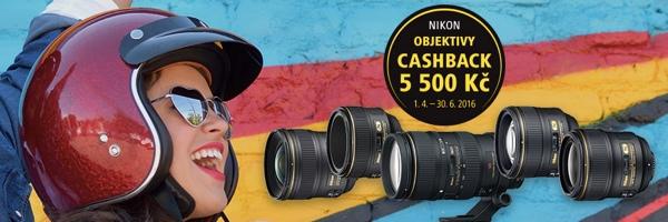 Nikon Cashback – jaro 2016