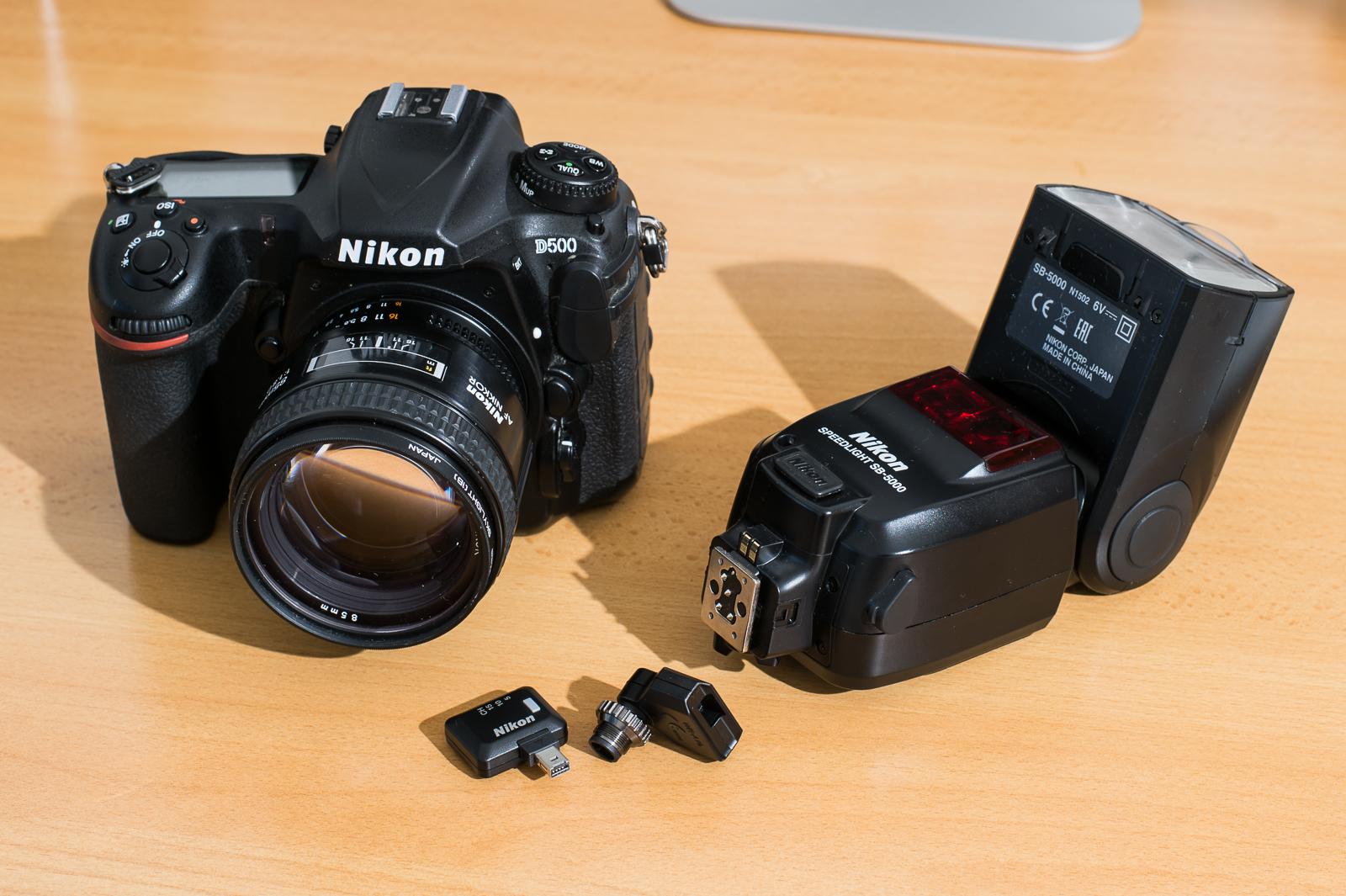 Rádiově odpalovaný blesk Nikon Speedlight SB-5000