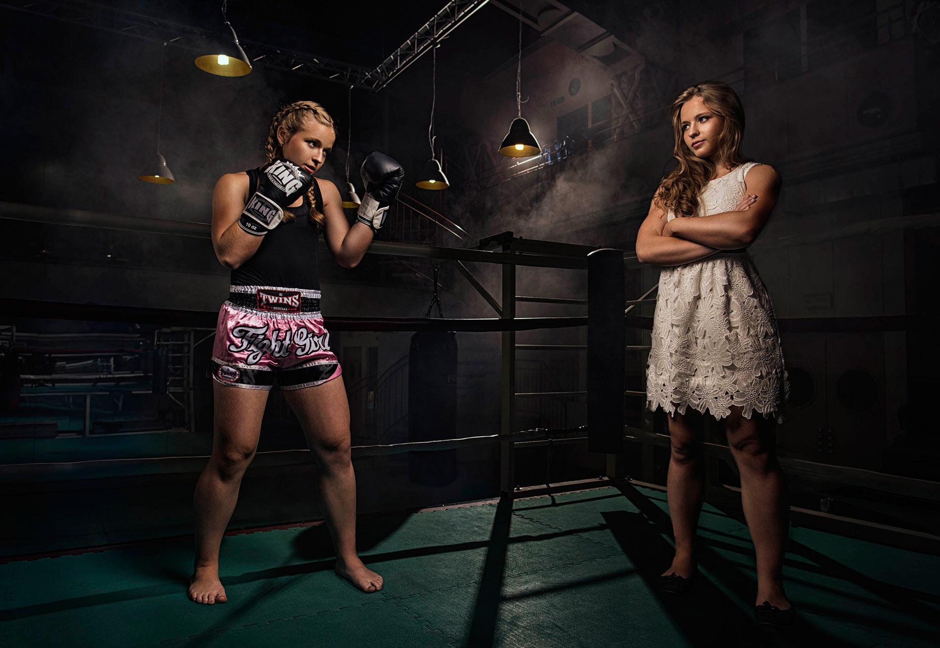 Mistryně světa v kickboxu Martina Ptáčková | Foto Dan Vojtěch
