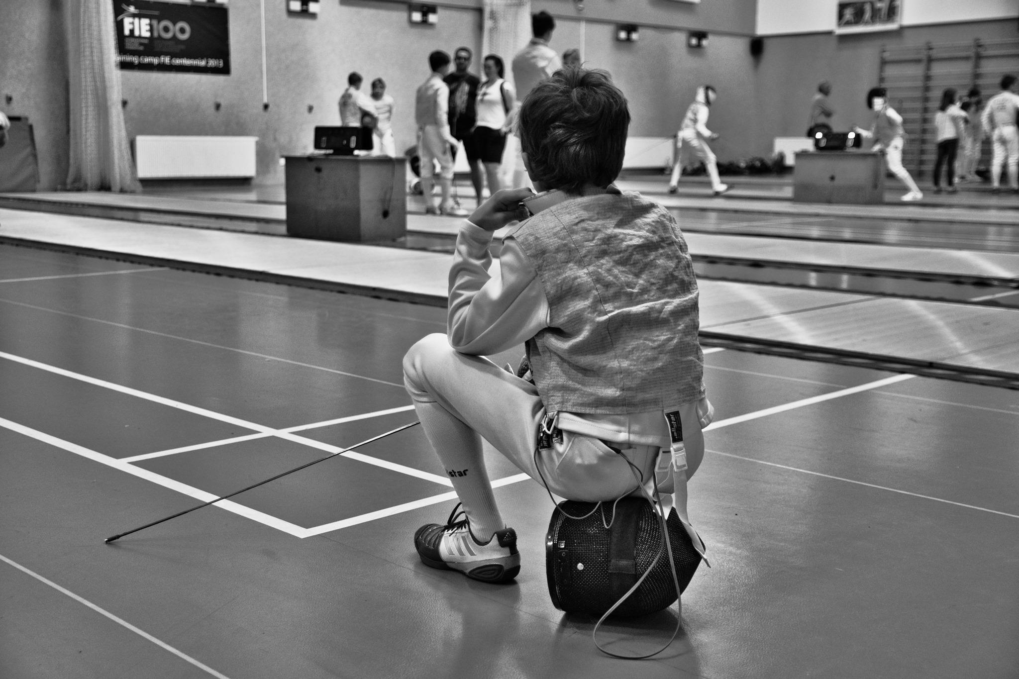 Daniel Veselý – Čekání na zápas MČR mladší žáci