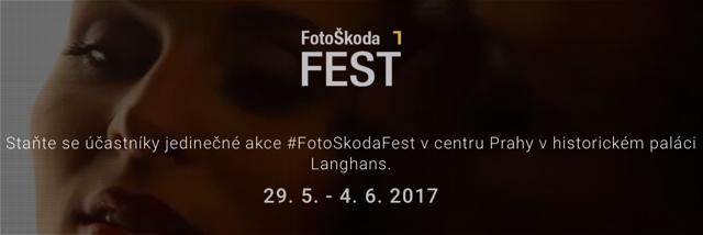 FotoŠkoda FEST už od pondělí 29. 5. 2017