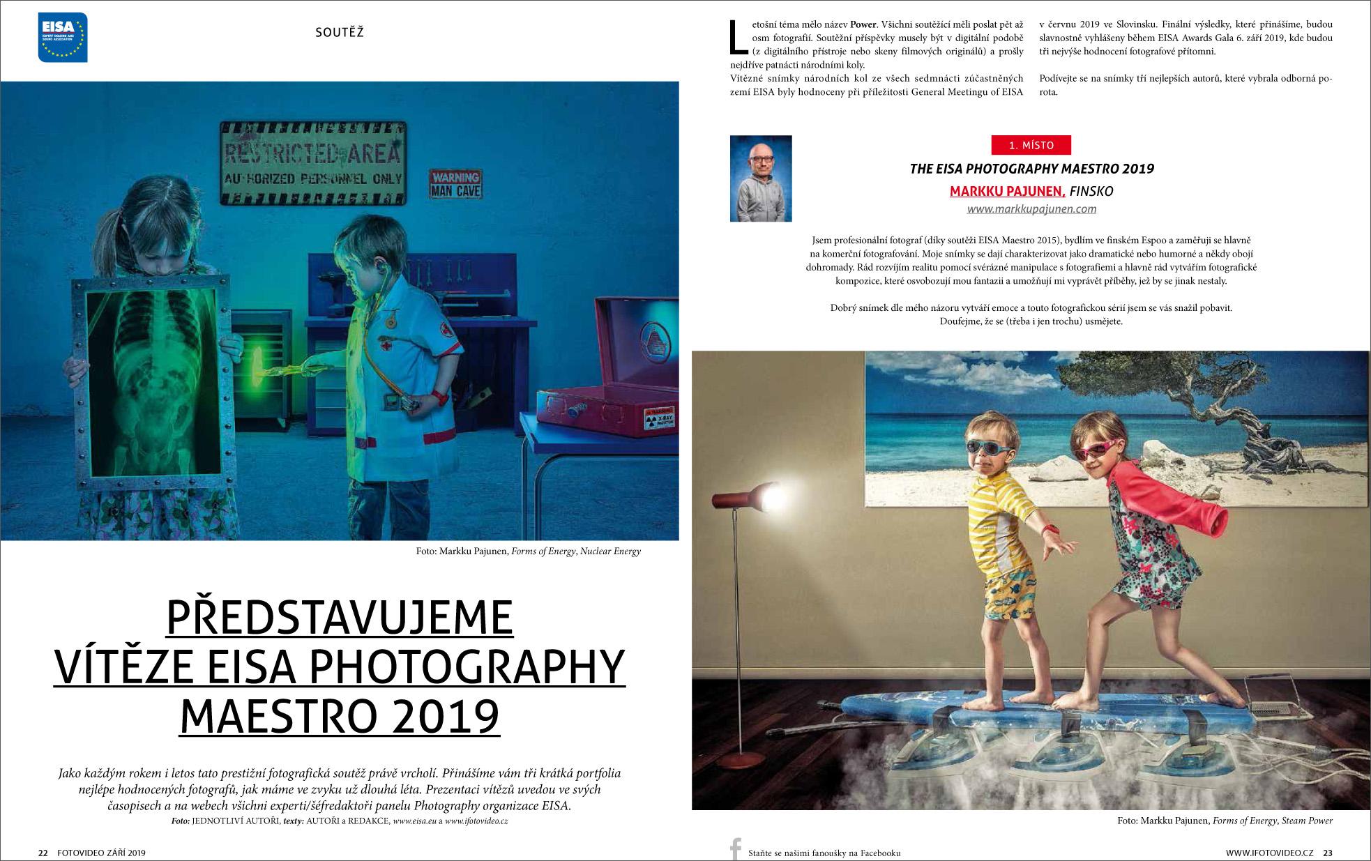 časopis FotoVideo 09/2019